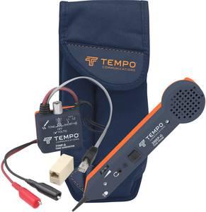 Vezetékvizsgáló kábelteszter és hanggenerátoros vezetékkereső RJ11/RJ45 kábelekhez Greenlee 701K-G-BOX Tempo Communications