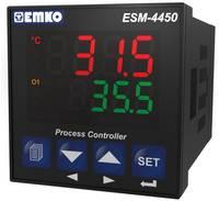 PID hőmérséklet szabályozó, J, K, R, S, T, B, E, N, Pt100, relés, 5 A, RS 232, 105 x 48 x 48 mm, Emko ESM-4450 Emko