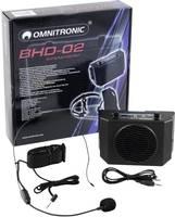 Omnitronic BHD-02 övön hordható erősítő, aktív hangszóró (11038882) Omnitronic