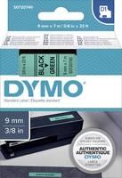 DYMO feliratozószalag D1, 9mm, zöld/fekete, S0720740 (S0720740) DYMO