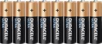 Ceruzaelem AA, alkáli mangán, 1,5V, 8 db, Duracell Ultrapower LR06, AA, LR6, AAB4E, AM3, 815, E91, LR6N (DUR002548) Duracell