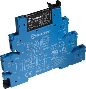 Relé modul 10 db Finder 38.51.7.012.0050 Névleges feszültség: 12 V/DC Max. kapcsolási áram: 6 A 1 váltó Finder