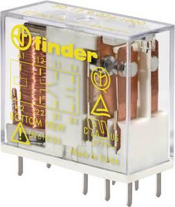 Nyák biztonsági relé, 24 V/DC, 2 váltó, 8 A, 250 V/AC, Finder 50.12.9.024.1000, 1 db Finder