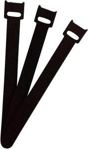 Tépőzáras kábelkötöző 150 x 13 mm, fekete, 1 db, Fastech FASTECH®