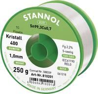 Stannol Flowtin TC Forrasztóón, ólommentes Tekercs CN0,7250 g 1.0 mm (810675) Stannol