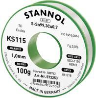 Forrasztóhuzal, ólommentes, 100 g, 1,0 mm, 3,0%, KS115 (574006) Stannol