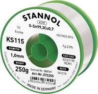 Forrasztóhuzal, ólommentes, 250 g, 1,0 mm, 3,0%, KS115 (574016) Stannol