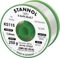 Forrasztóhuzal, ólommentes, 250 g, 1,5 mm, 3,0%, KS115 (574025) Stannol