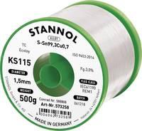 Forrasztóhuzal, ólommentes, 500 g, 1,5 mm, 3,0%, KS115 (574013) Stannol