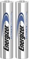Mikroelem AAA, lítium, 1,5V 1250 mAh, 2 db, Energizer Hi Energy LR03, AAA, LR3, AM4M8A, AM4, S Energizer