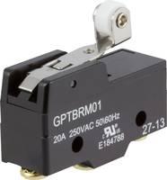Mikrokapcsoló 250 V/AC 20 A 1 x BE/(BE) Cherry Switches GPTBRM01 nyomó 1 db Cherry Switches