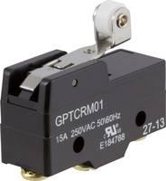 Mikrokapcsoló 250 V/AC 15 A 1 x BE/(BE) Cherry Switches GPTCRM01 nyomó 1 db ZF