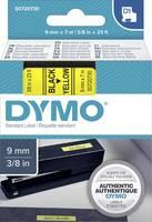 DYMO feliratozószalag D1, 9mm, sárga/fekete, S0720730 (S0720730) DYMO