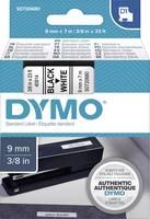 DYMO feliratozószalag D1, 9mm, fehér/fekete, S0720680 (S0720680) DYMO