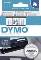 DYMO feliratozószalag D1, 9mm, fehér/kék, S0720690 (S0720690) DYMO