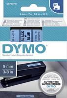 DYMO feliratozószalag D1, 9mm, kék/fekete, S0720710 (S0720710) DYMO