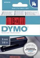 DYMO feliratozószalag D1, 9mm, piros/fekete, S0720720 (S0720720) DYMO