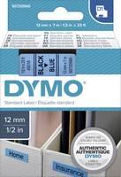 DYMO feliratozószalag D1, 12mm, kék/fekete, S0720560 (S0720560) DYMO