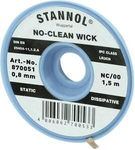 Kiforrasztó huzal 0,8 mm/1,5 m Stannol