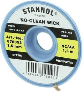 Kiforrasztó huzal 1,5 mm/1,5 m Stannol NC/AA Stannol