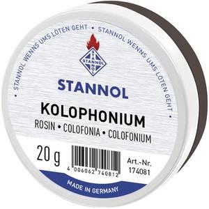 Forrasztó gyanta, kolofónium hegedűgyanta Stannol Kolophonium 174081 Stannol