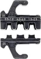 Krimpelő profil szigeteletlen, nyitott dugaszoló csatlakozóhoz 4,8 + 6,3 mm, Knipex 97 39 05 Knipex