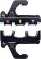 Krimpelő profil szigetelt kábelsarukhoz + dugaszoló csatlakozókhoz, Knipex 97 39 06 Knipex