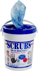 Kéztisztító kendők, 72 db, Scrubs Scrubs
