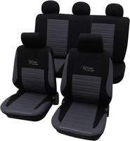 Univerzális autós üléshuzat készlet 11 részes ezüst szürke színű Active cartrend