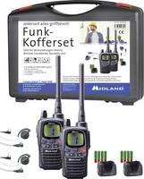 Midland PMR/LPD rádió, adó-vevő 2 részes készlet, headsettel Midland G9 Profi AL206.S4 (AL206.S4) Midland