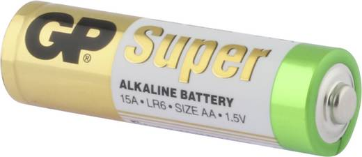Ceruzaelem AA, alkáli mangán, 1,5V, 40 db, GP Super LR06, AA, LR6, AAB4E, AM3, 815, E91, LR6N