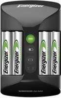 Ceruza (AA), mikroceruza (AAA) akkutöltő NiMH akkukhoz, 4db 2000 mAh Energizer akkuval Energizer Pro Charger 639837 Energizer