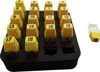 Kábel mérő készülék Softing RK200 =19xRJ45 Remote, Identifier Set (1-19) Hálózat Softing