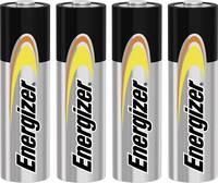 Ceruzaelem AA, alkáli mangán, 1,5V, 4 db, Energizer Power LR06, AA, LR6, AAB4E, AM3, 815, E91, LR6N Energizer