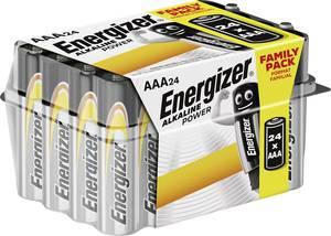 Mikroelem AAA, alkáli mangán, 1,5V, 24 db, Energizer Power LR03, AAA, LR3, AM4M8A, AM4, S Energizer