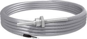 Hőmérséklet érzékelő, típus J -50 - 400 °C, vezetékhossz: 4 m, Emko, ISO kalibrált Emko