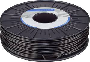 3D nyomtatószál 2,85 mm, ABS, fekete, 750 g, Innofil 3D ABS-0108B075 BASF Ultrafuse