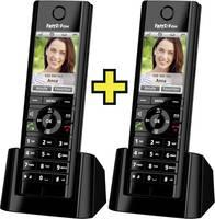 AVM FRITZ!Fon C5 International (2x) Vezeték nélküli VoIP telefon Bébiszitter, Kihangosító, Headset csatlakozó Színes kij AVM