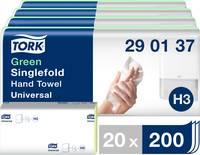 TORK 290152 Zickzack C&C Universal Papír kéztörlők (H x Sz) 23 cm x 24.8 cm Zöld 20 x 200 lap/csom. 4000 db TORK