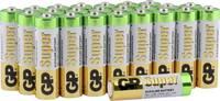 Ceruzaelem AA, alkáli mangán, 1,5V, 24 db, GP Super LR06, AA, LR6, AAB4E, AM3, 815, E91, LR6N GP Batteries