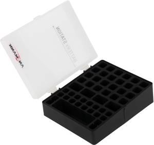 Elemtartó doboz 48 db elemhez, Mikro (AAA), Ceruza (AA), 9 V-os Ansmann Ansmann