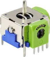 3D joystick potméter kapcsolóval, 12V/DC, 10 kΩ, Tru Components 98002C2 TRU COMPONENTS
