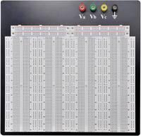 Dugaszolható próbapanel, (H x Sz x M) 186.2 x 228.8 x 8.4 mm, pólusok száma: 3600, TRU COMPONENTS 0165-40-1-32044, 1 db TRU COMPONENTS