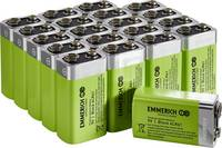 Emmerich Industrial 6LR61 9V-os elem Alkáli mangán 500 mAh 20 db Emmerich