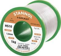 Forrasztóón, ólommentes Ólommentes, Tekercs Stannol HS10 2,5% SN99,3CU0,7 CD 1000 g 1 mm (535762) Stannol