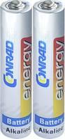 Conrad energy LR8 Mini elem (AAAA) Mini (AAAA) Alkáli mangán 1.5 V 500 mAh 2 db (CE-1694986) Conrad energy