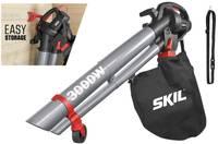 Elektromos lombfúvó, lombvágó, lombszívó, gurítható, 230 V, SKIL 0796 SKIL