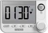 Eurochron EDT 8001 Időzítő Fehér digitális (EC-3509466) Eurochron