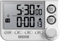 Eurochron EDT 8002 Időzítő Fehér digitális Eurochron