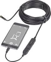 USB-s endoszkóp mobiltelefonhoz ø 8 mm hossz: 9,85 m Voltcraft VC-8919590 VOLTCRAFT